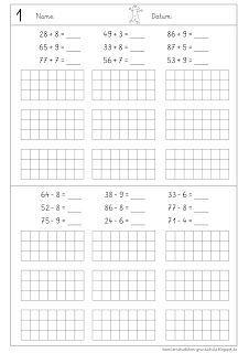 plus und minus ber den zehner mit rechenweg lernst bchen mathe. Black Bedroom Furniture Sets. Home Design Ideas