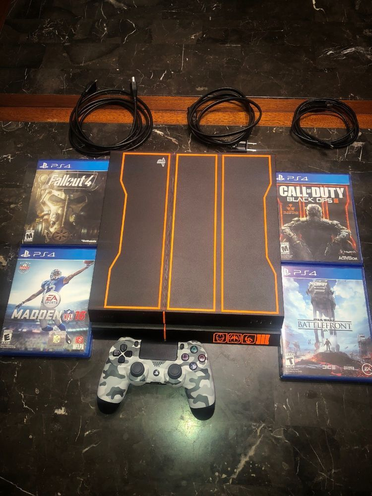 Ps4 Console 1tb Black Ops 3 Bundle Egaming Forums Ps4 Black Ops
