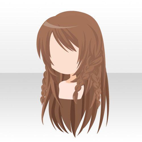 @trade | 検索結果 anime hair braids | How to draw hair