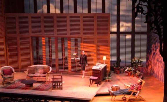 Night And Day By Tom Stoppard The Wilma Theater Set Design By