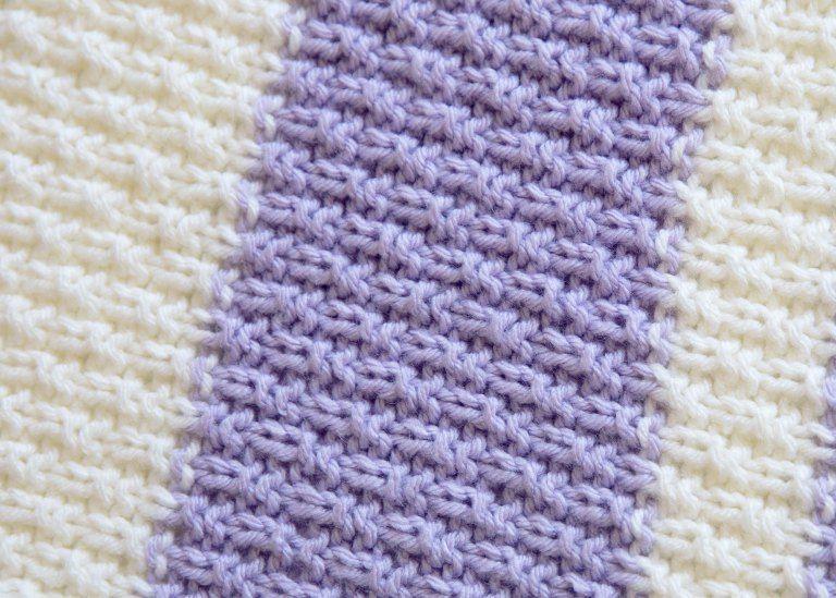4cf2b8630 Easy Knit Baby Blanket Pattern