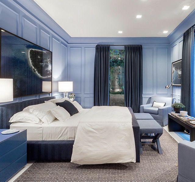 Dorm Casal Azul Quartos&Etc