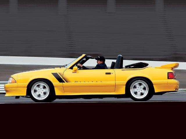 yellow saleen convertible fox mustang | Yellow Vehicles | Fox