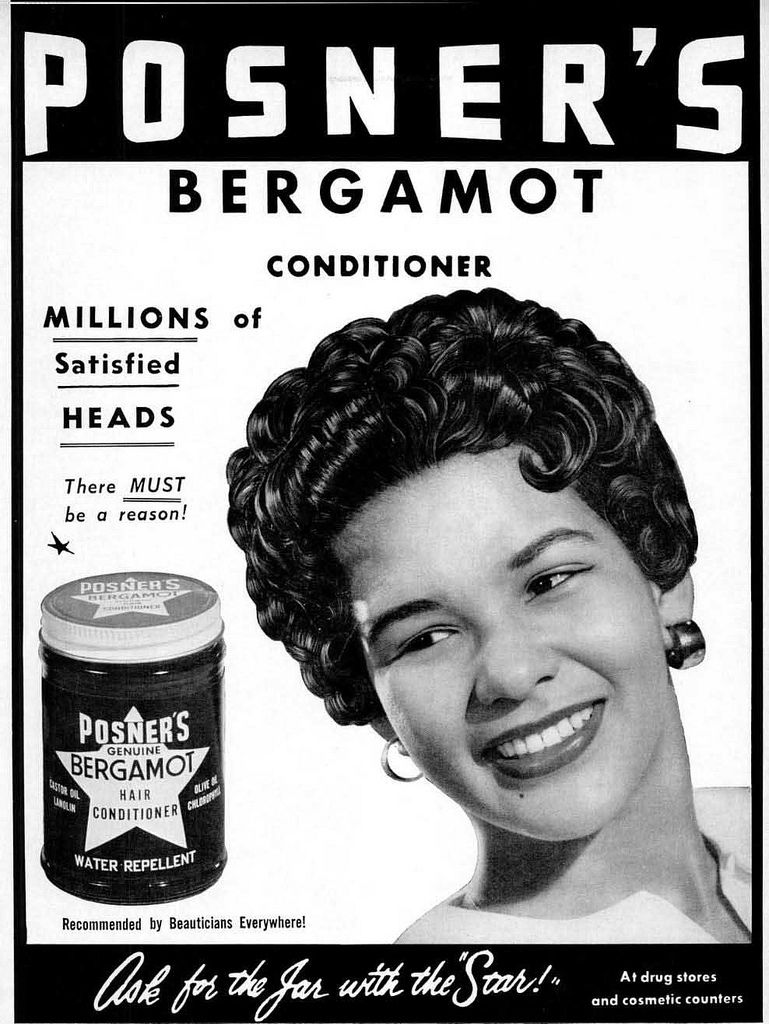 vintage black hairstyles in beauty ads | my black history