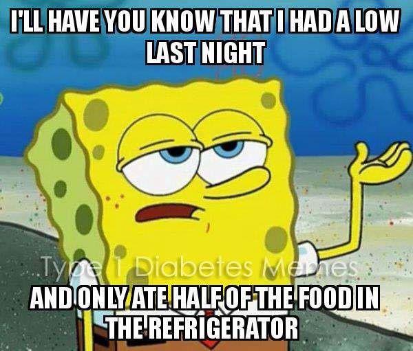 Spongebob Memes Six Until Me Diabetes Blog