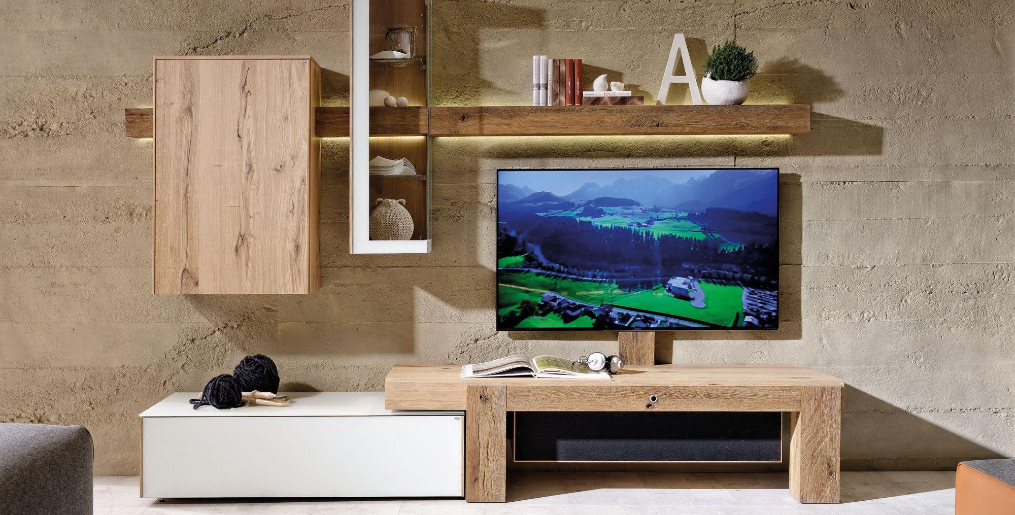 Voglauer V Solid System Wohnwand Wohnzimmer Living Room