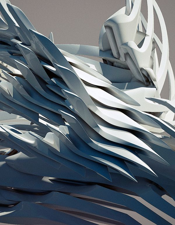 """Collection of my recent sketches of architecture in space.This is just a small piece of the future project in which I want to show my vision of architecture which is beyond planet Earth or on the other planets with different physical properties.""""Space G…"""