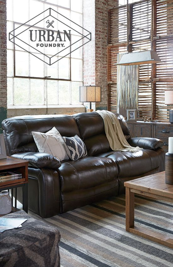 Urban, Eclectic And Rustic Living Room