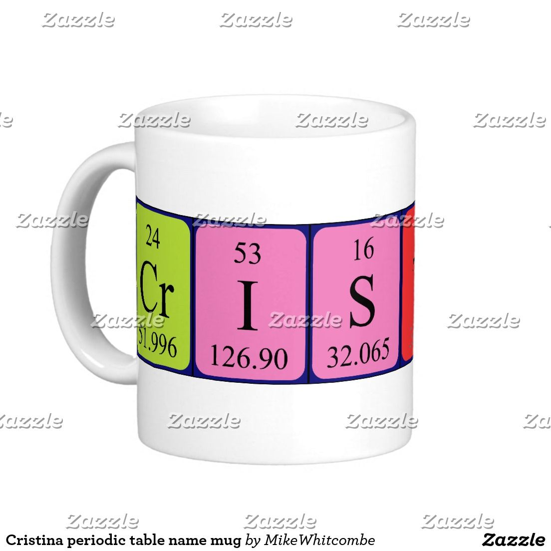 Cristina periodic table name mug june 2016 purchases from my cristina periodic table name mug urtaz Image collections