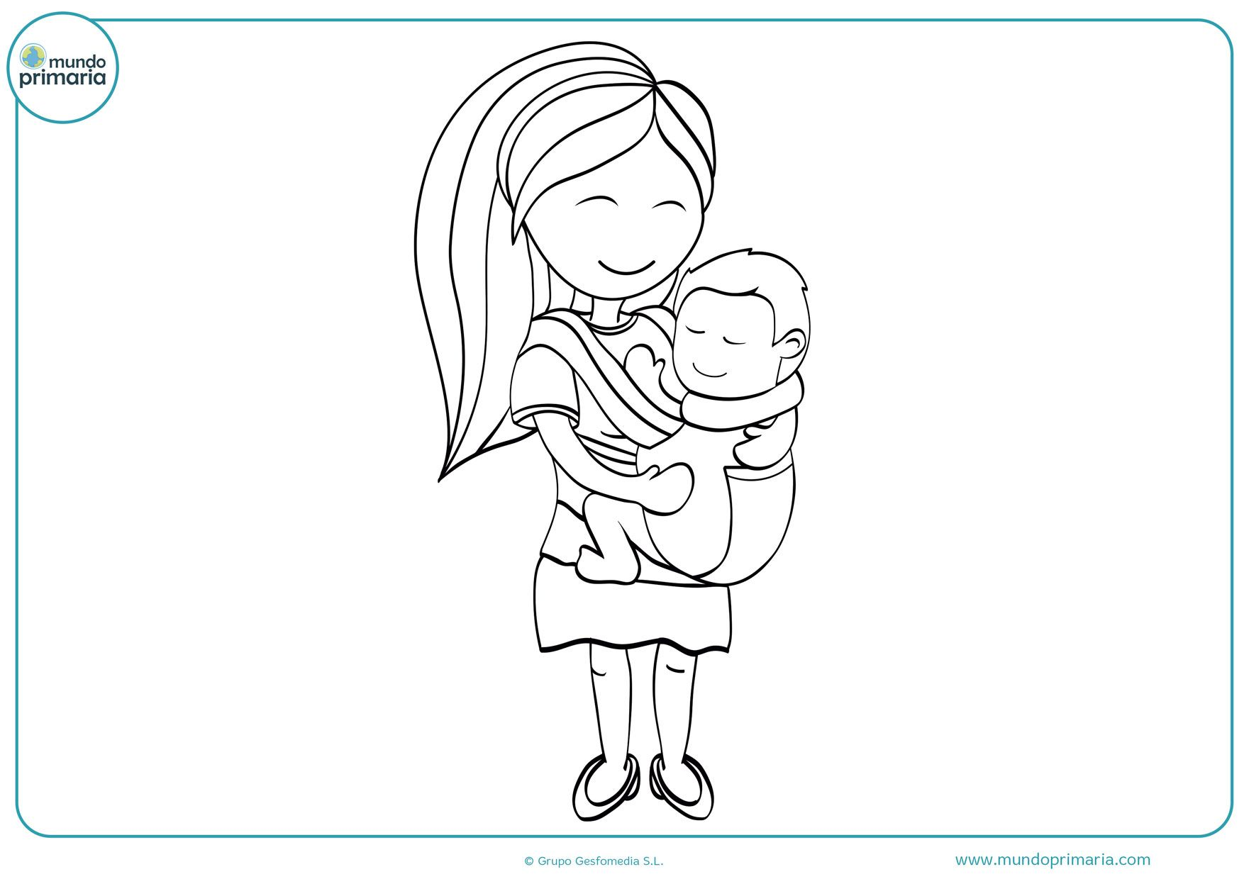 Dibujos Del Dia De La Madre Para Colorear Faciles Bonitos Dibujos Del Dia De Las Madres Dibujos Dibujo Para Mama