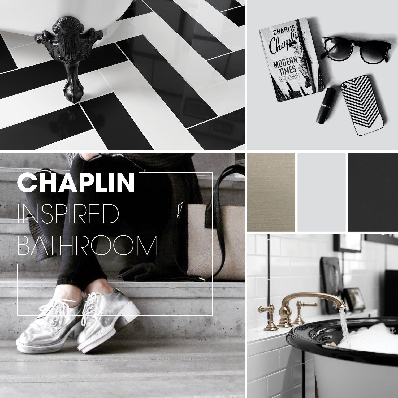 Chaplin Inspired Bathroom   Kohler   Bath remodel ...