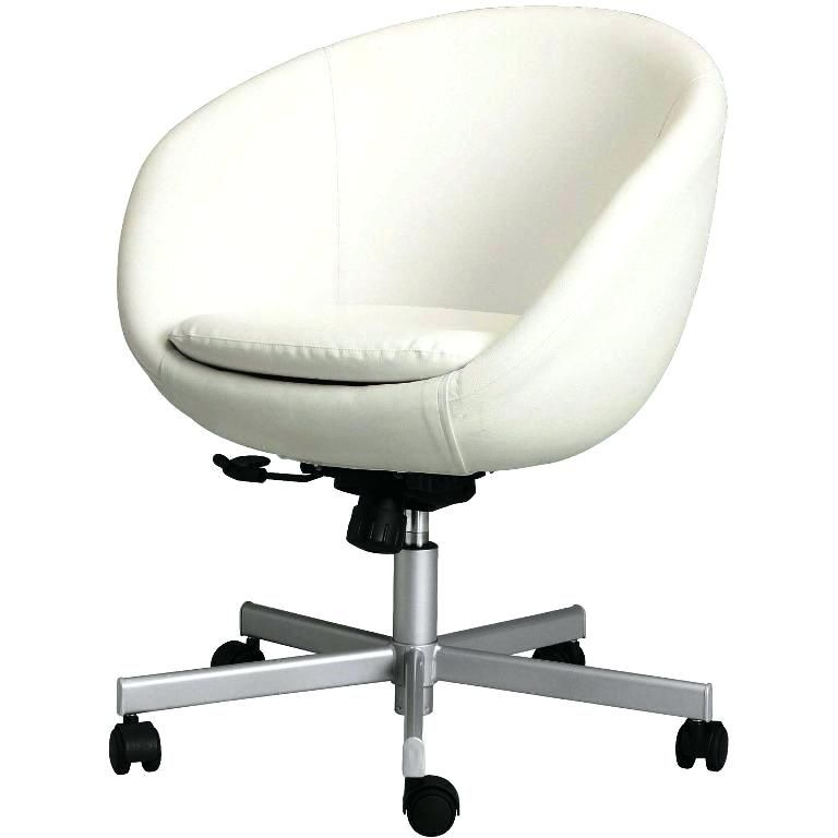 White Desk Chair Ikea, White Computer Chairs Uk