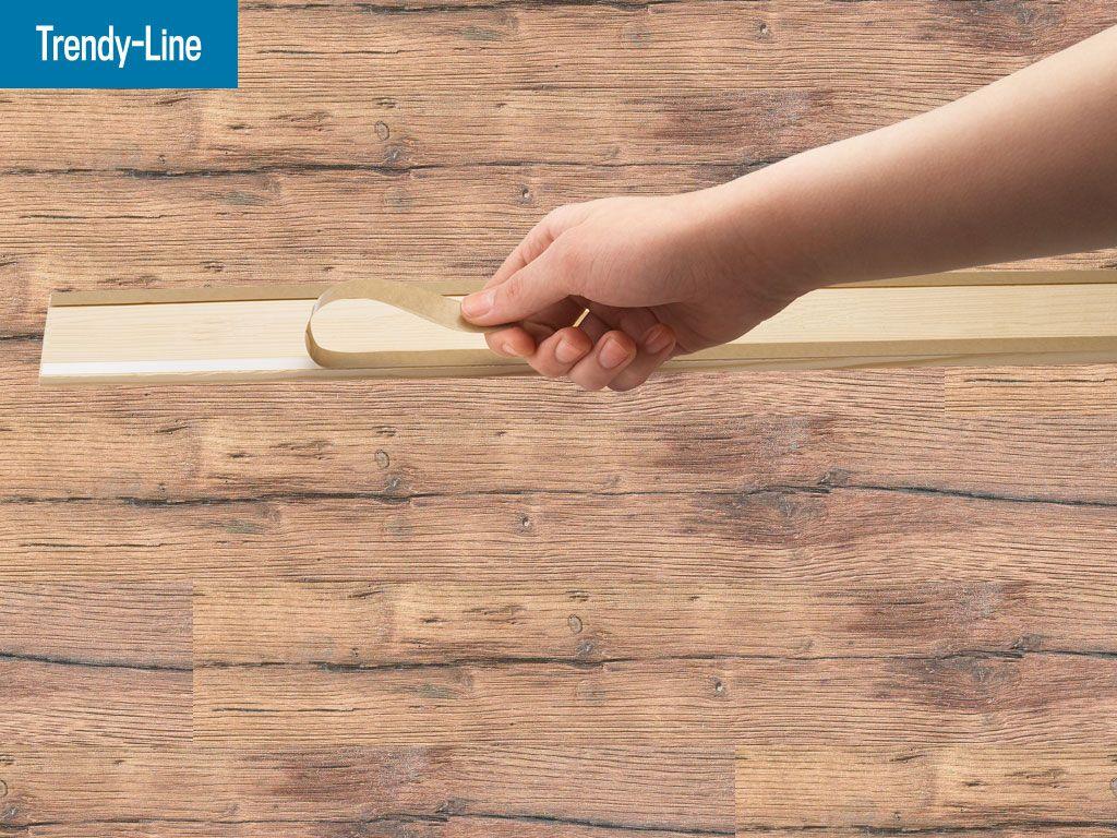 Holzverkleidung Fur Die Wand Mit Wandwood Paneele Einfach Kleben Holzwand Verkleiden Und Selbermachen Wandgestaltung Fur In 2020 Holzpaneele Holzwand Holzverkleidung