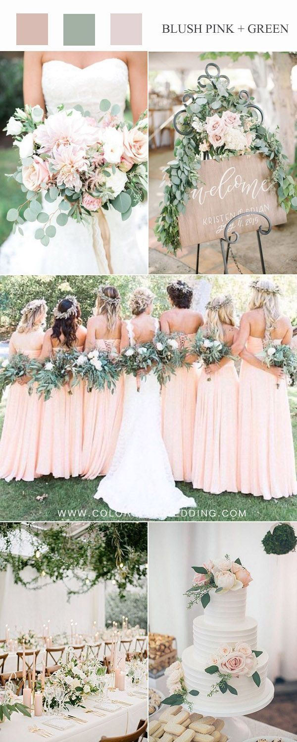 春2020年のトップ10のブッシュピンクの結婚式の色のアイデア Pink Wedding Colors Wedding Color Schemes Spring Spring Wedding Colors