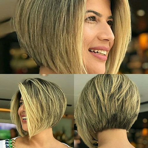 Short Layered Inverted Bob Short Layered Haircuts 2018 2019 Wavy Bob Hairstyles Short Layered Haircuts Hair Styles