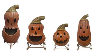 Pumpkin Chimeneas Or Fire Pits For The Fall Holiday Season. Sit Around The  Fire On