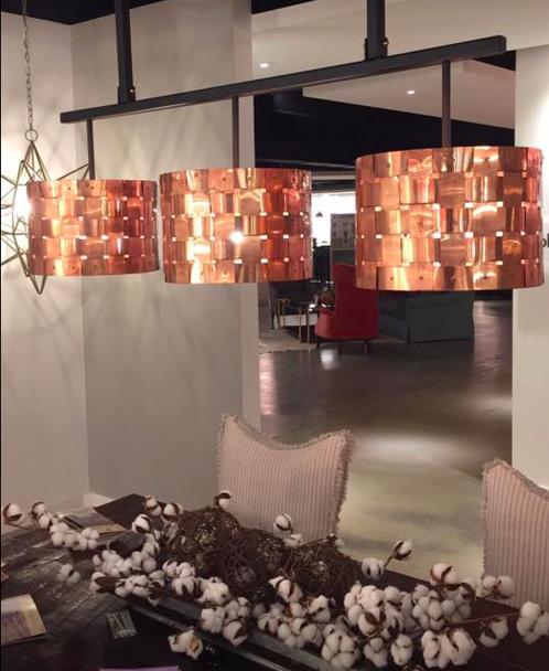 St James Basket Weave Copper Chandelier Copper Lighting Copper Chandelier Chandelier Ceiling Lights