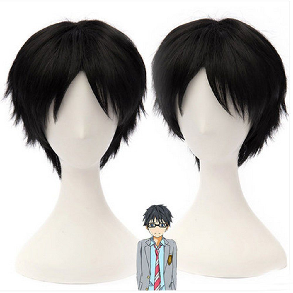 Camplayco your lie in april arima kousei wig cosplay