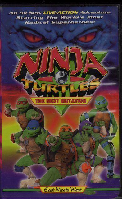 Ninja Turtles The Next Mutation VHS East Meets West $4.99