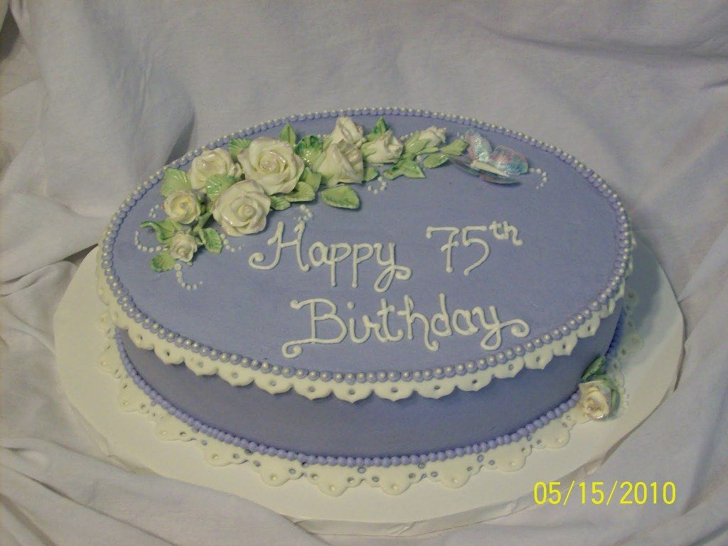 Image Result For 75th Birthday Cake Ideas Mom