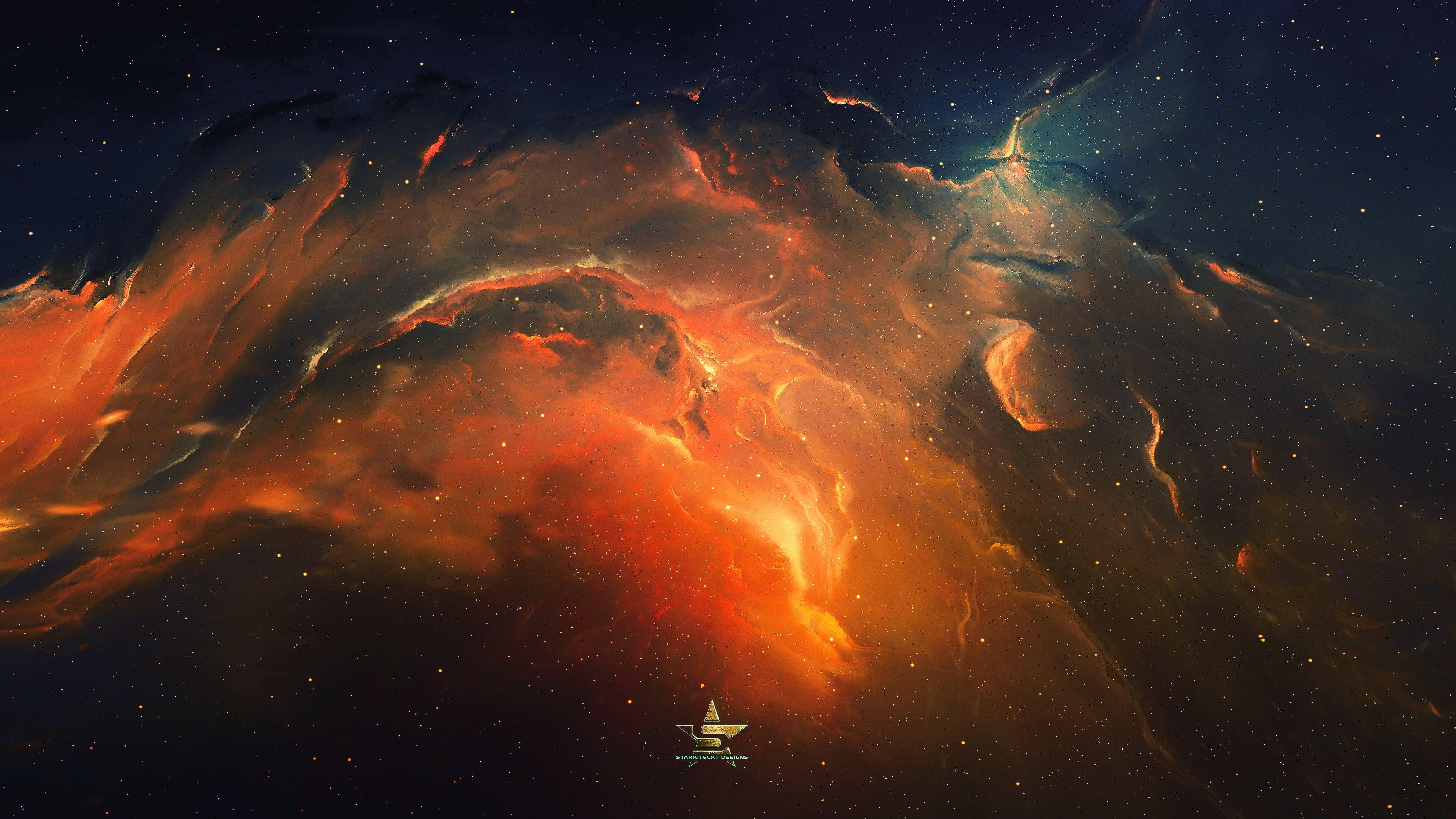 Orange And Black Galaxy Wallpaper Galaxy Space Stars Universe Spacescapes Nebula 4k Wallpaper H In 2021 Nebula Wallpaper Galaxy Wallpaper Iphone Wallpaper Sky