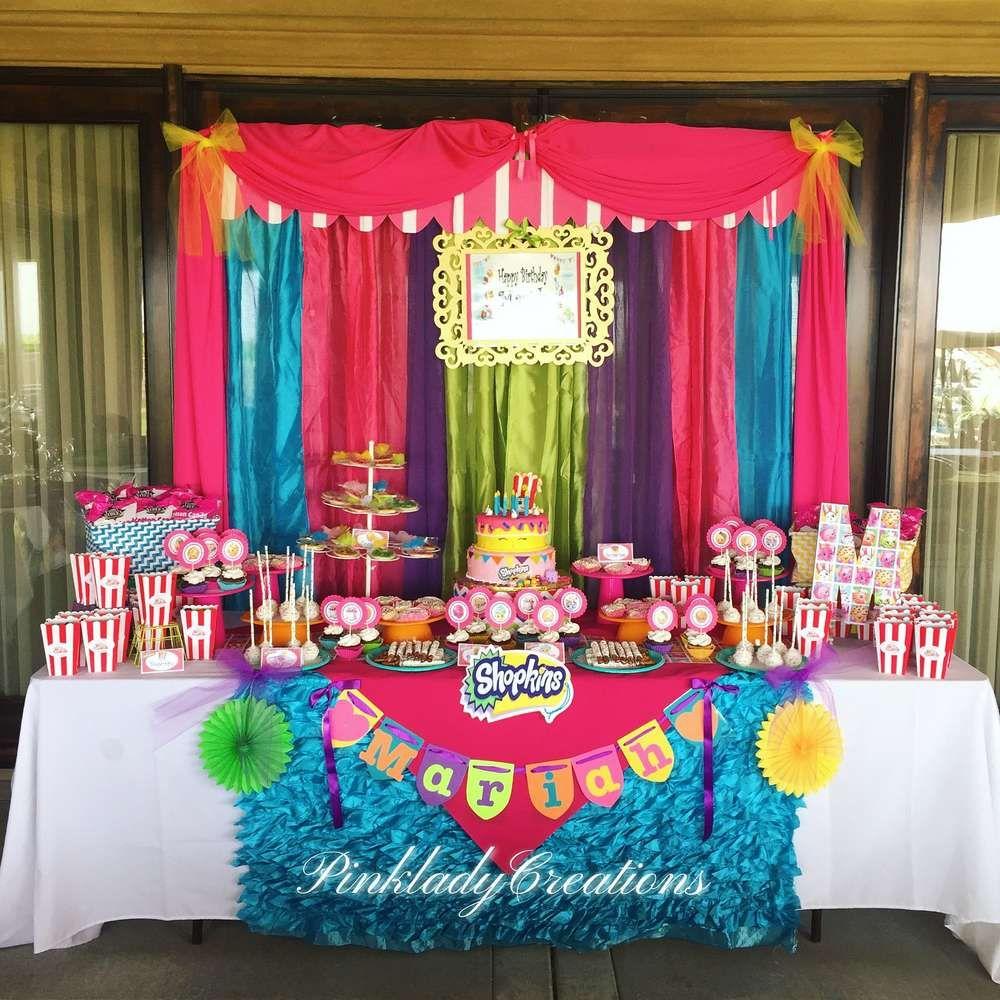 Shopkins birthday party ideas caramelo decoracion for Idea de decoracion