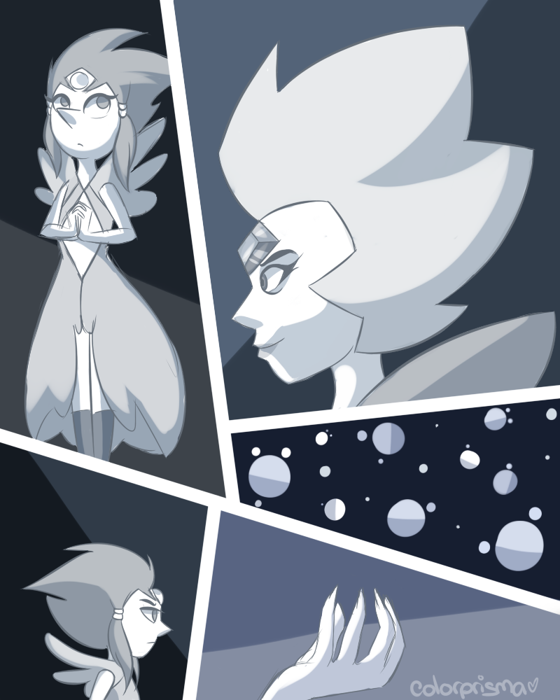 White diamond white pearl my version steven universe for White pearl