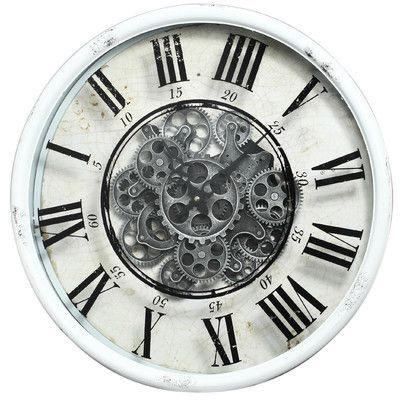 Trent Austin Design Vintage 20 Quot Gear Wall Clock Products