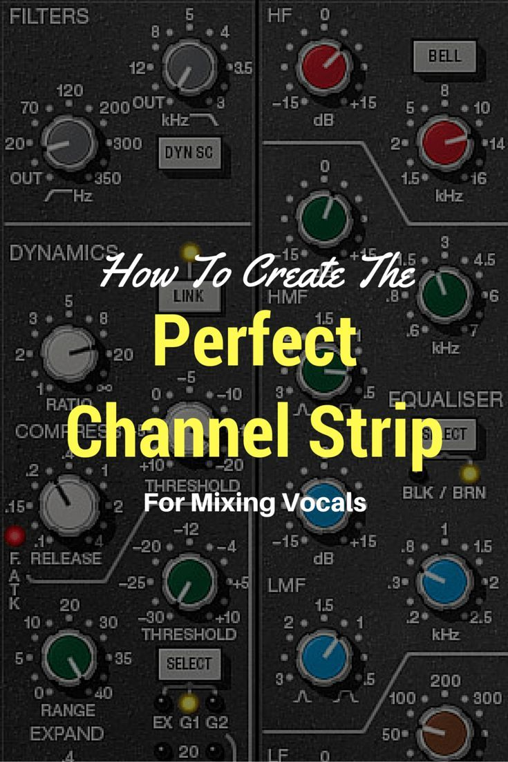 How to create the perfect channel strip for mixing vocals