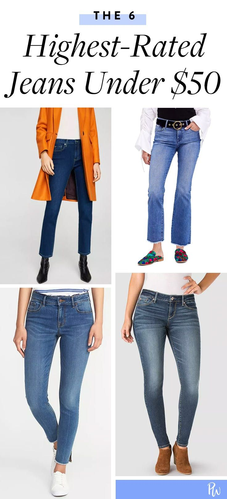 ee787861c8f The 6 Highest Rated Jeans Under $50 | Closet Fantasies | Fall jeans ...