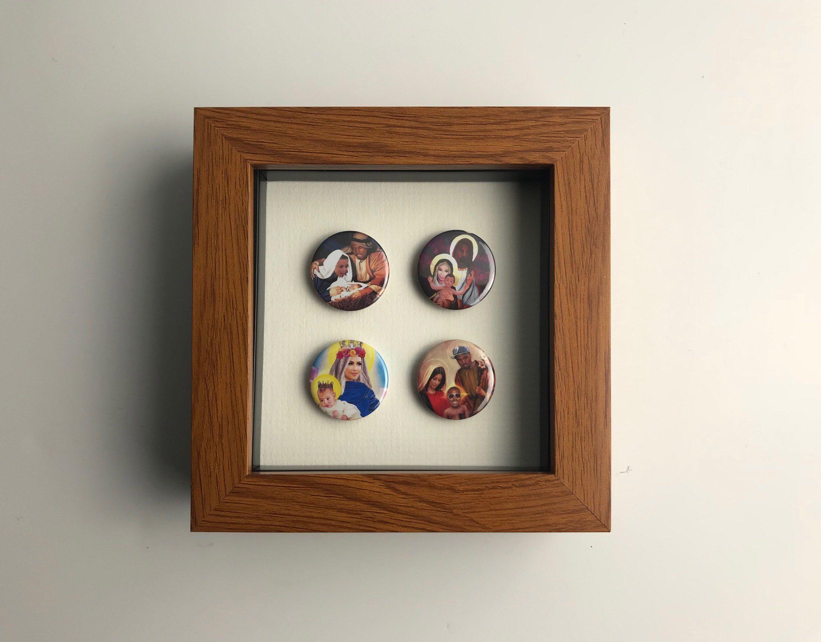 kim kanye set 1 music pins rock wall art graphic on kim wall id=61169