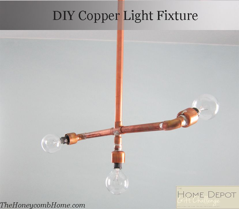 Diy Copper Light Fixture Copper Lighting Copper Light Fixture