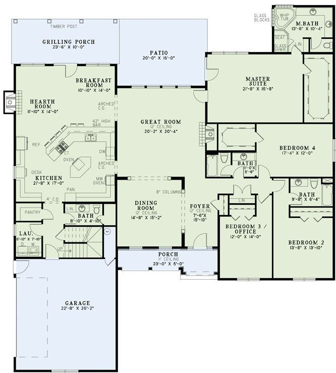Floorplan Ideas...4/3.5 With Bonus Room Upstairs And