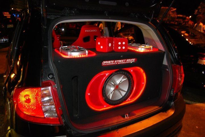 my all kicker audio set up my ride hitch pinterest. Black Bedroom Furniture Sets. Home Design Ideas