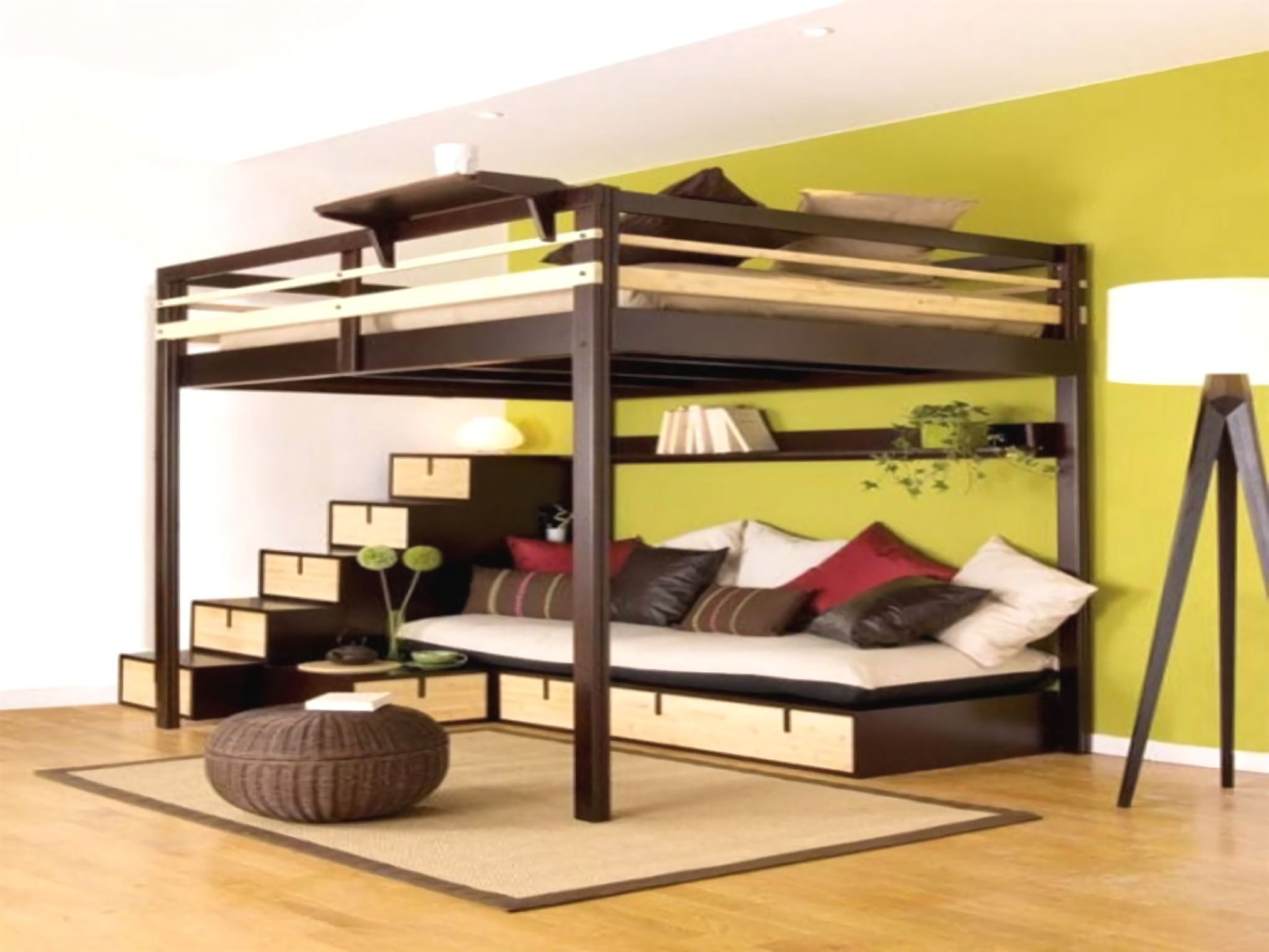 Lit Mezzanine Double Adulte lit mezzanine ikea | cool loft beds, loft bed plans, bedroom