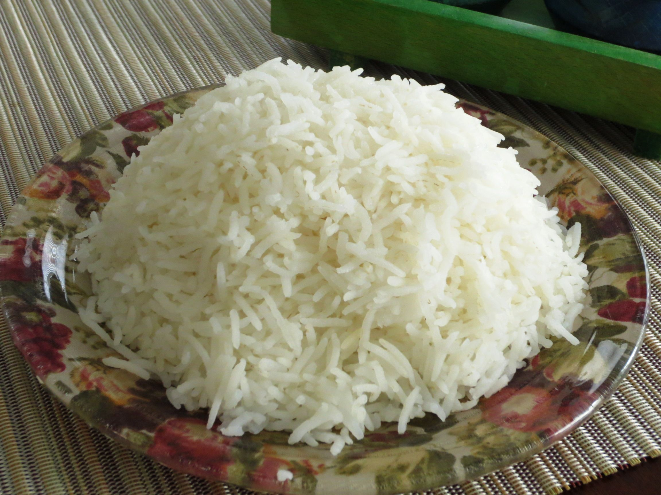 how to make white rice more healthy