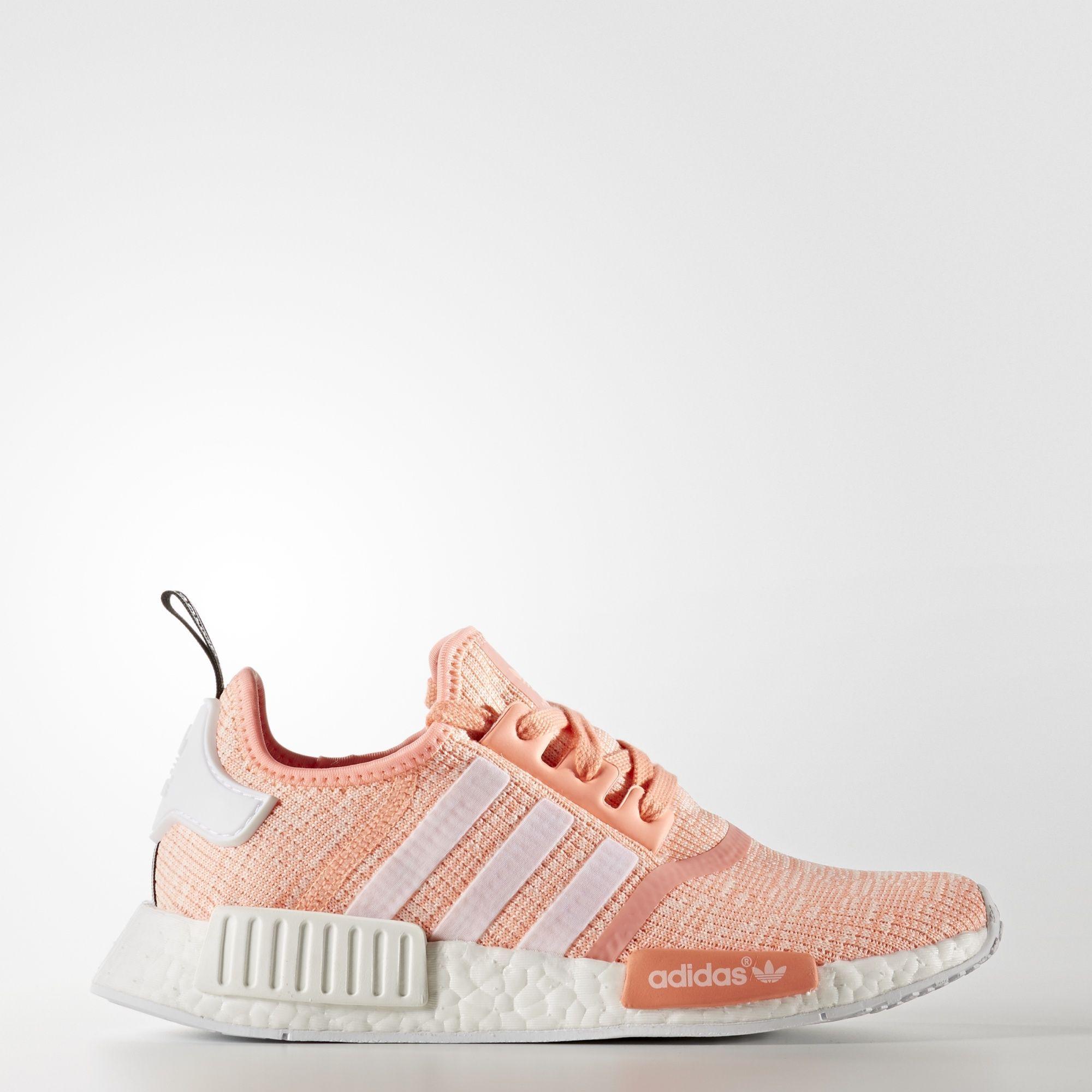 super popular db91f 925b4 Adidas Femmes, Adidas Nmd Boost, Tenis Adidas, Pink Adidas, Orange Shoes,