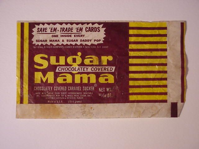 Images Of 1970 S Candy Sugar Daddy Wrapper Disney