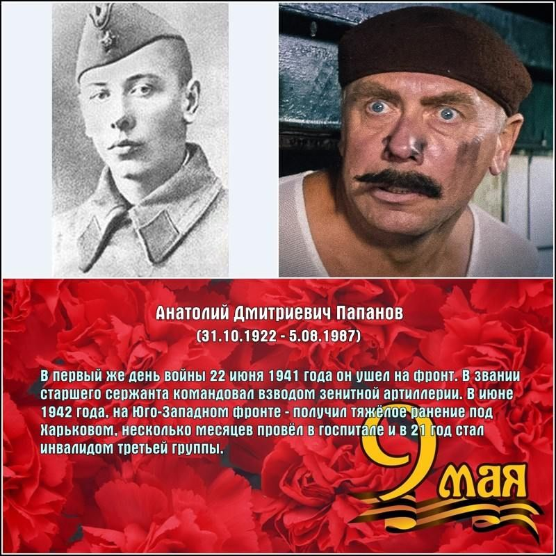Они сражались за Родину; советские актёры-фронтовики (27 ...