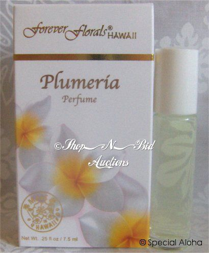 Hawaii Forever Florals Plumeria Perfume For Only 7 98 Plumeria Perfume Sweet Fragrances Roll On Perfume