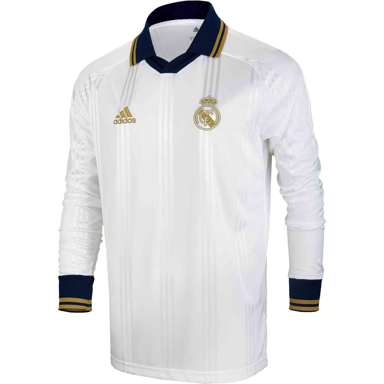 Adidas Real Madrid Retro Home Jersey Esporte Camisa
