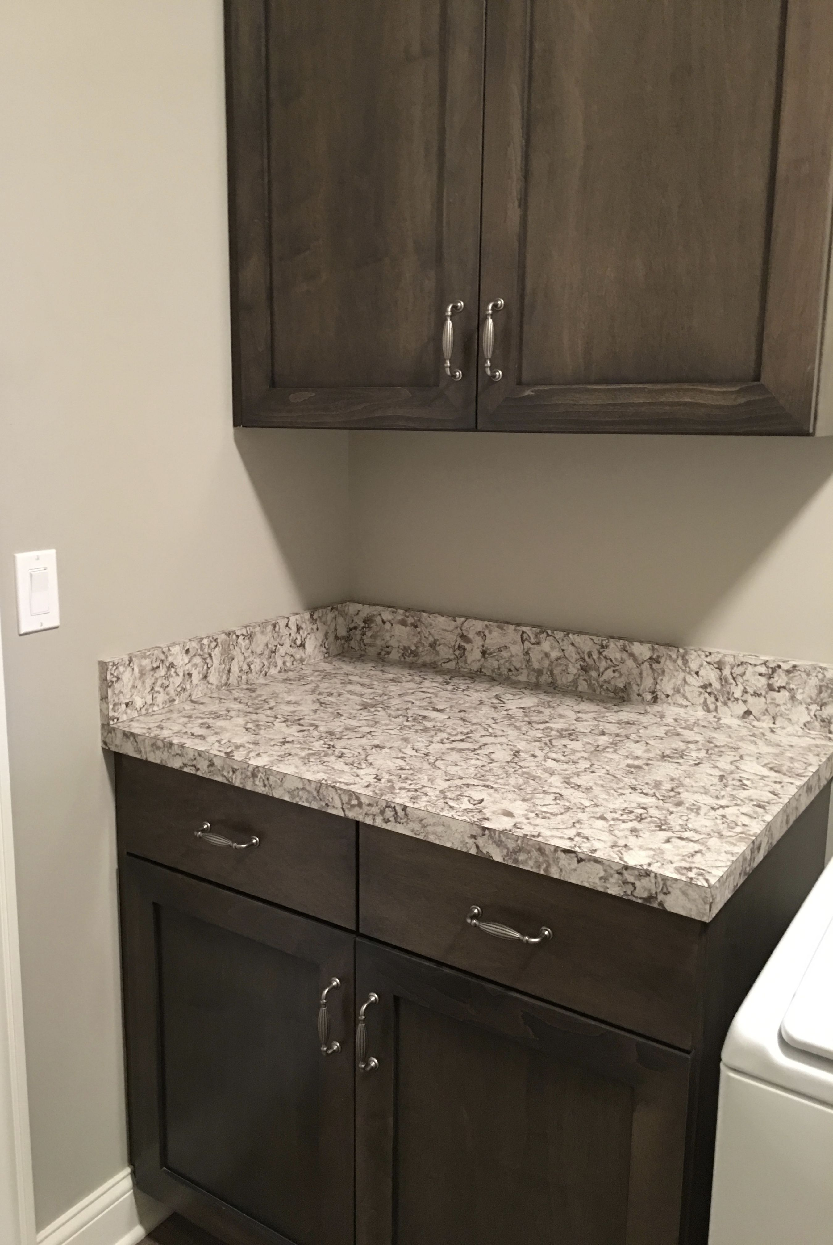 We Are Loving This Star Dune Countertop Our Customer Selected For Their Laundry Room Is It