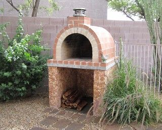 Lewis Pizza Oven Traditional Landscape Albuquerque By