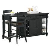 Found it at Wayfair - Grand Torino Kitchen Island Set - I like this one because it has a drop leaf on the side