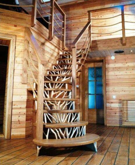 Cabin stairs