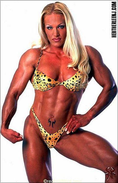 Bodybuilder Powerlifter And Fitness Model Heather Lee