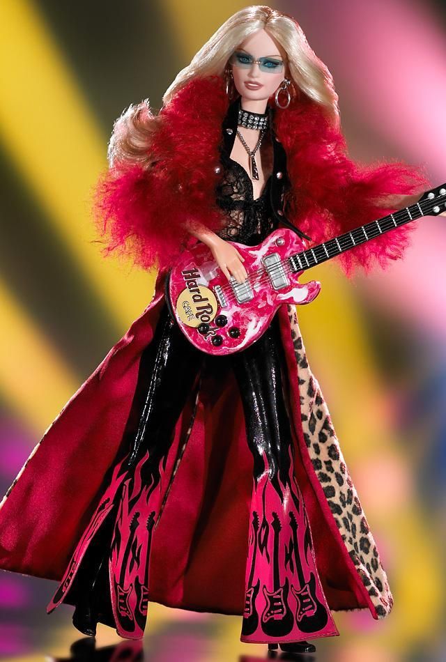 Poupées Latest Collection Of Barbie Hard Rock Cafe 2003 Autres
