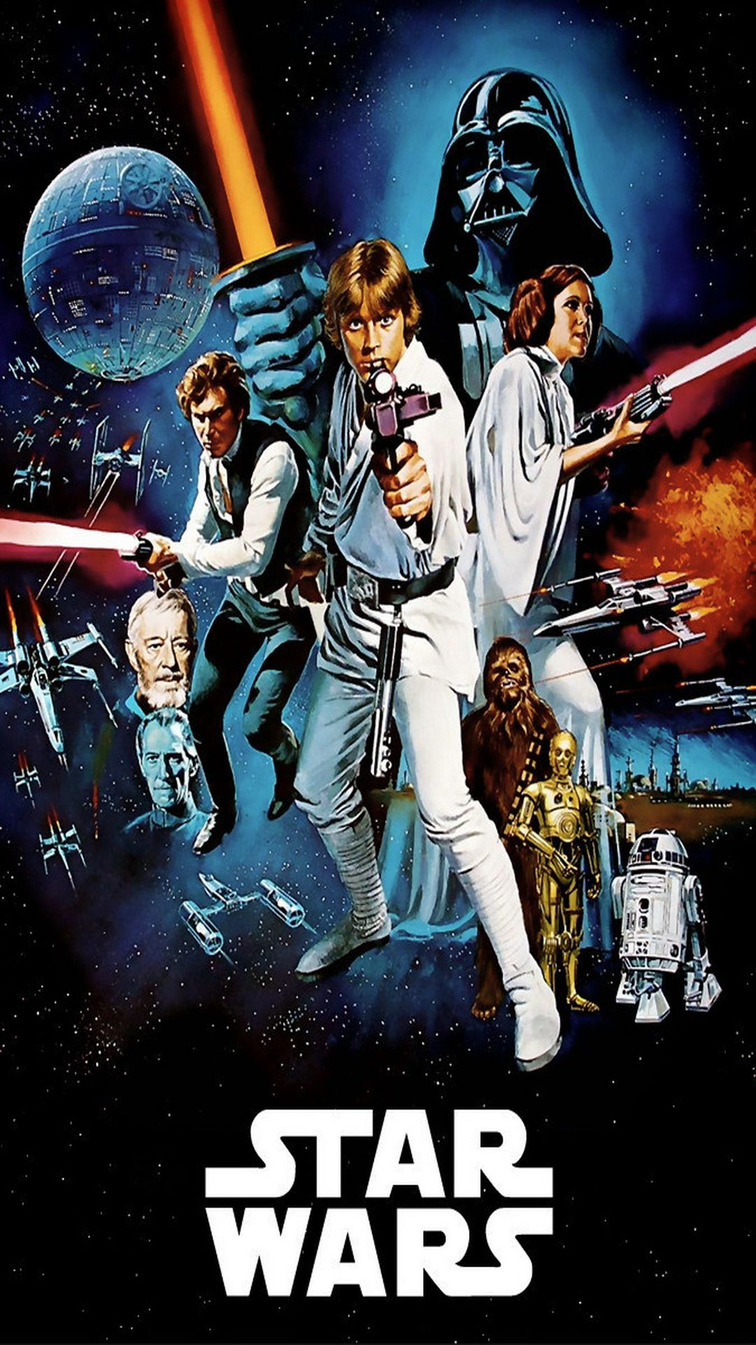 10 Movie Posters Wallpapers For The Iphone 6 Plus Star Wars Art