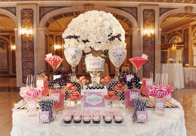 Wedding Candy Bars On Pinterest