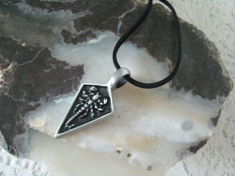 Scorpion Spear Necklace southwestern jewelry southwest jewelry